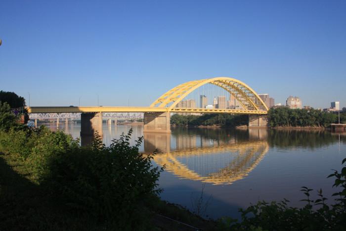 13) Big Mac Bridge (Cincinnati)