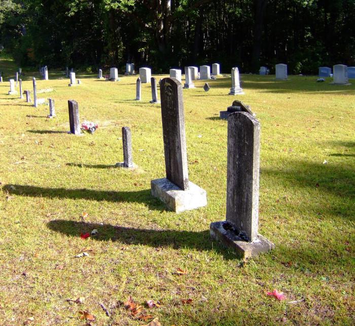 6. Iva Cemetery, Iva, SC