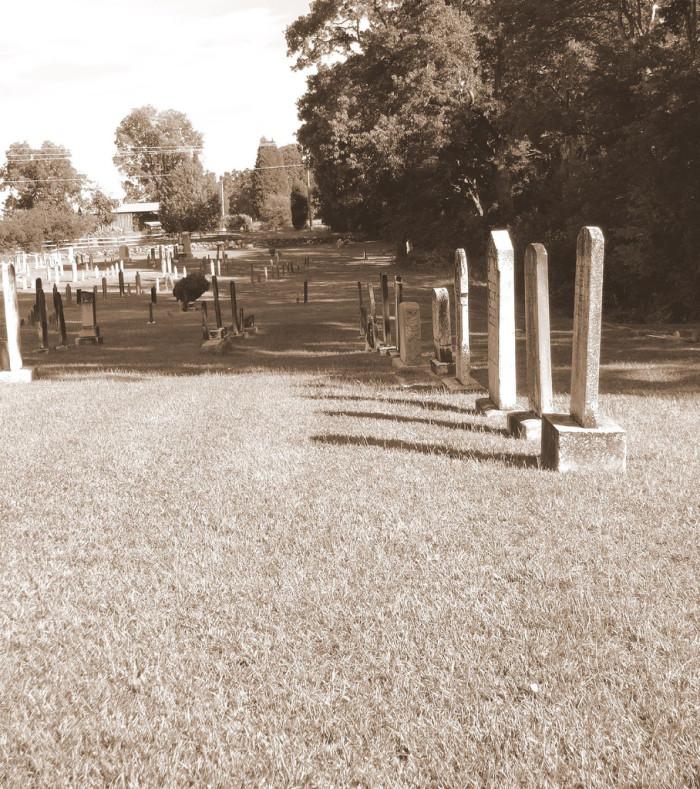 10. Bethabara Cemetery, Cross Hill, SC