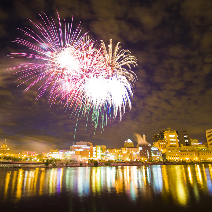 1. Saint Paul 4th of July Fireworks - Always spectacular and fun, and this year out of CHS field in lowertown.