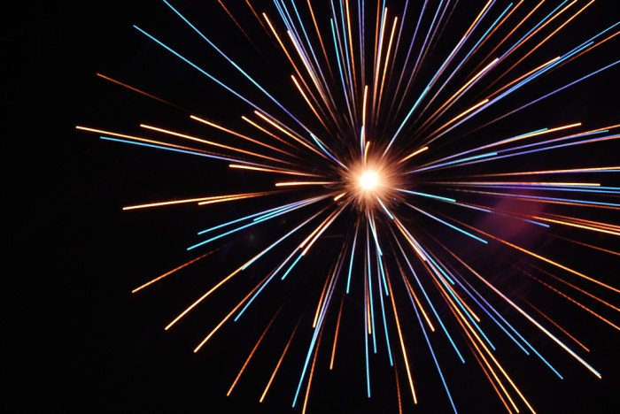 4.) Emporia Fireworks Display