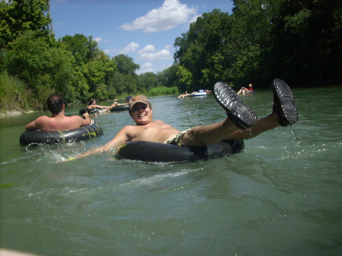 7) Speaking of water, you've tubed at least one river in Texas because you know there's no better way to spend a summer day!