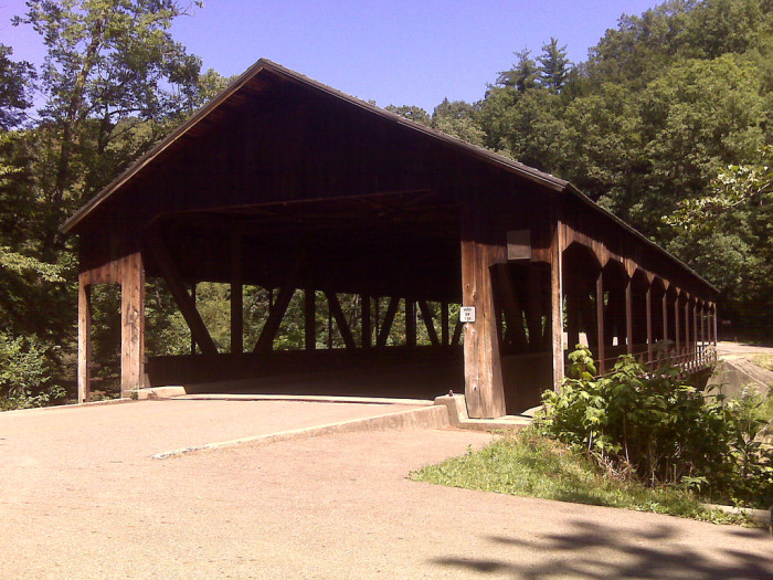 20) Mohican State Park covered bridge (Ashland County)