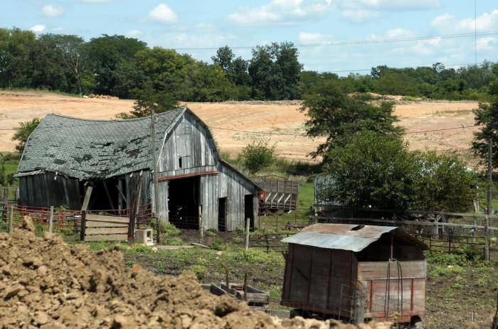 12) Old Farm Barn (Unknown Location)