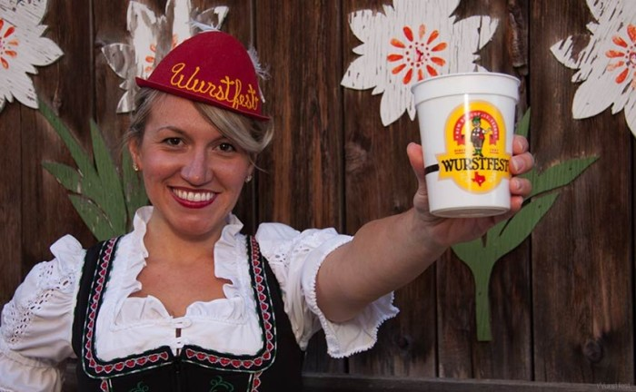 2) Wurstfest in New Braunfels (Nov 6-15) because who wouldn't want to spend 10 days trying craft beer, eating German food, and doing the polka?