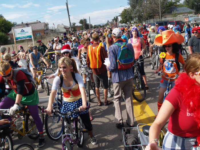 8.) Ride in the Tour de Fat