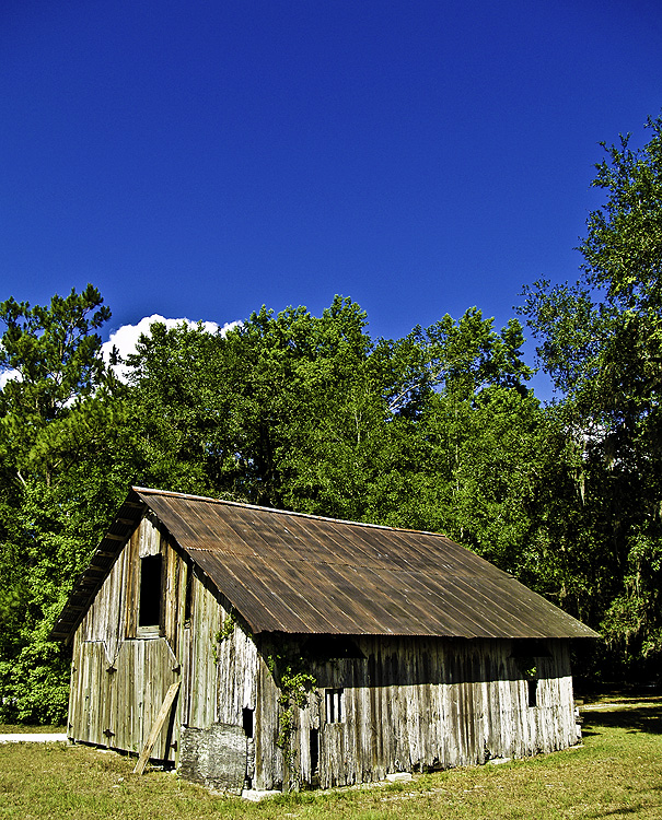 4. Weathered Barn