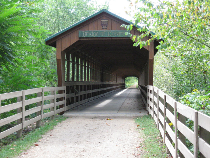 12) Bridge of Dreams (Knox County, Mohican River)