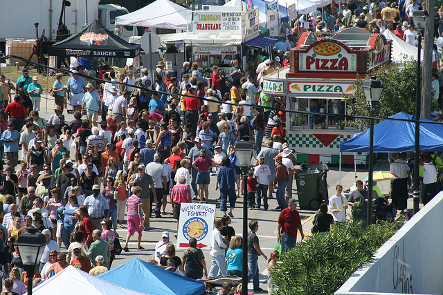 9. NC Seafood Festival, Morehead City, October