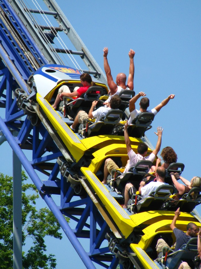 10) Good grades for the year were rewarded with tickets to Cedar Point in neighboring Ohio.