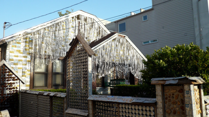 1) Beer Can House (Houston)