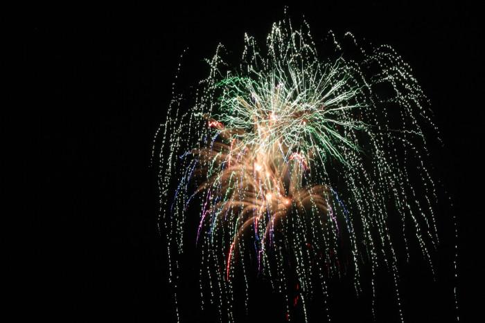 2. Fireworks in Burlington