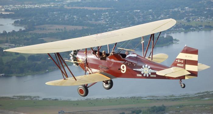 2. Take a ride in a biplane