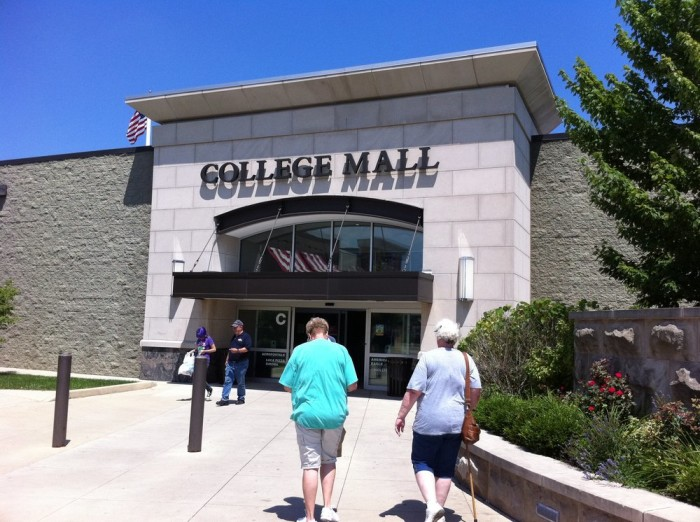 3.) College Mall - Bloomington