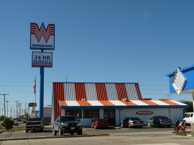 3) Speaking of burgers, this place is practically a second home to most Texans.