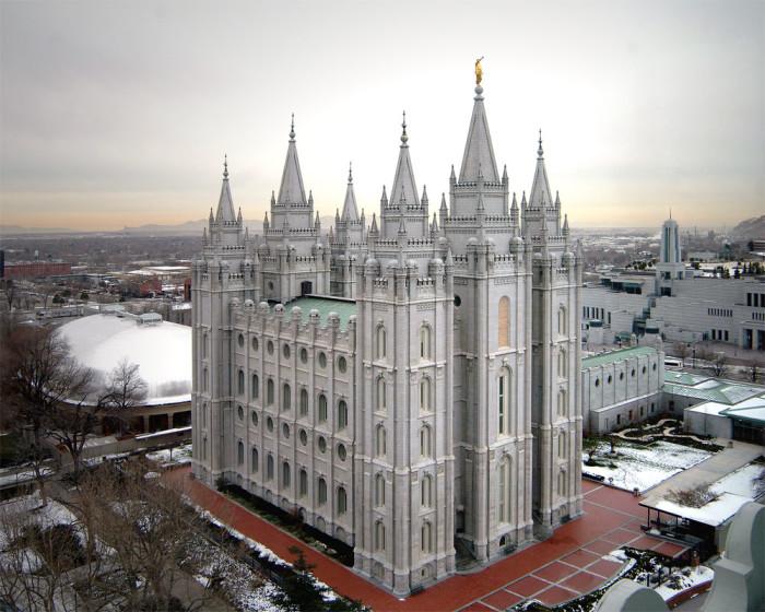 7) LDS Temple in Salt Lake City