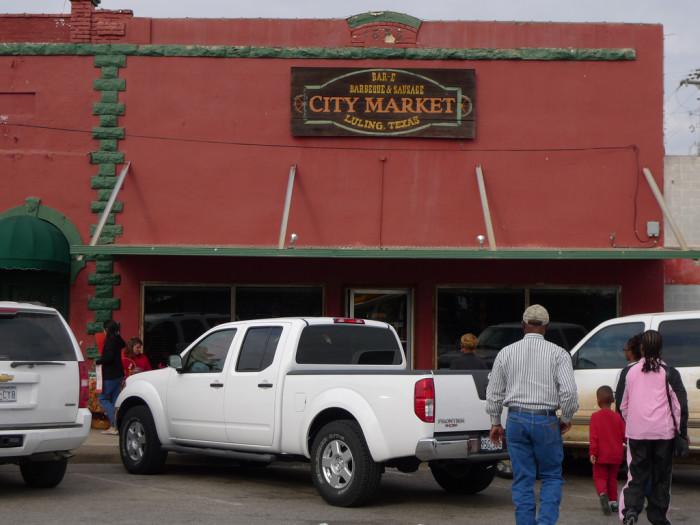 8) City Market (Luling)