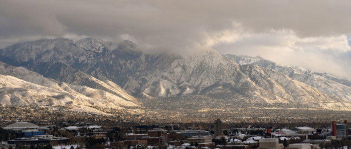 6) The Wasatch Mountains