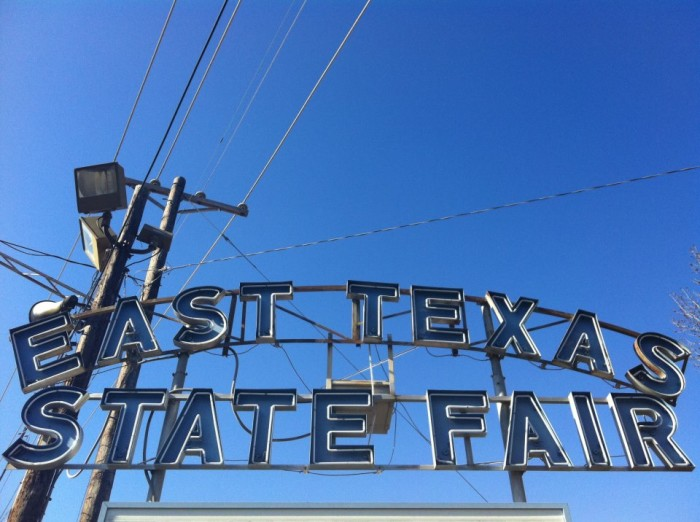 7) East Texas State Fair in Tyler (Sept 25-Oct 4) for fun carnival rides and all the fried food your heart desires.