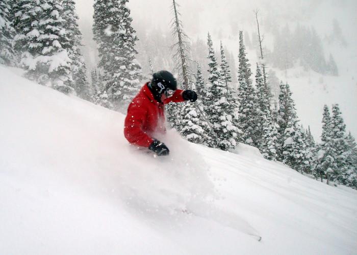 10) Any of Utah's Powdery Ski Slopes