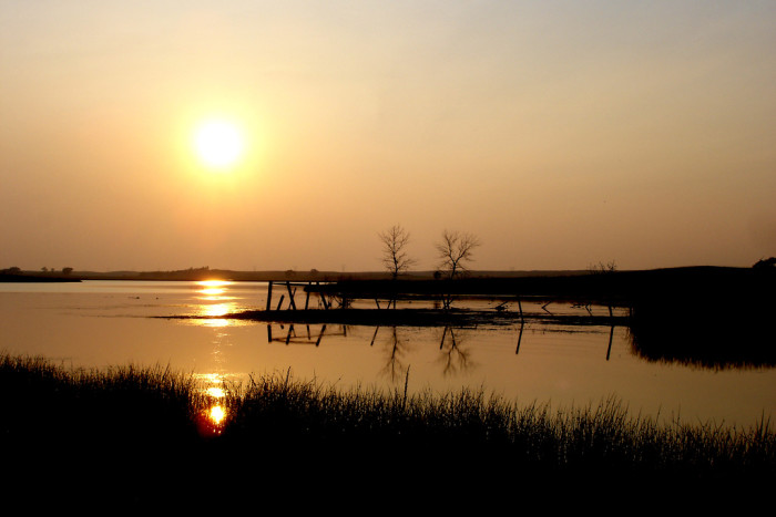 1. This sunset outside of Crystal Springs, North Dakota is beyond BEAUTIFUL!