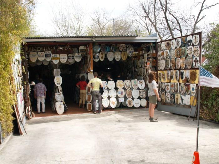 9) Toilet Seat Museum (San Antonio)