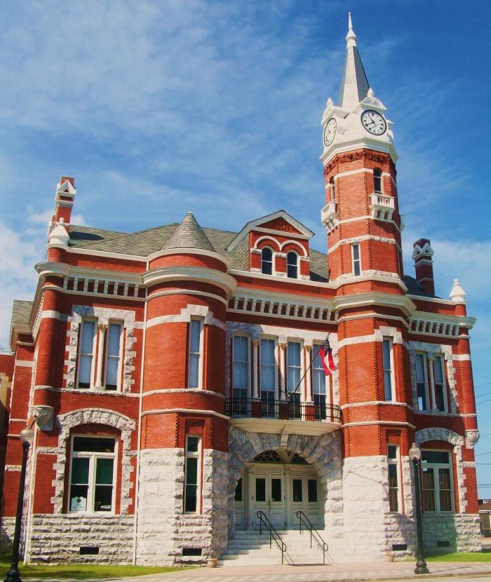 8) Old City Hall in Brunswick, GA