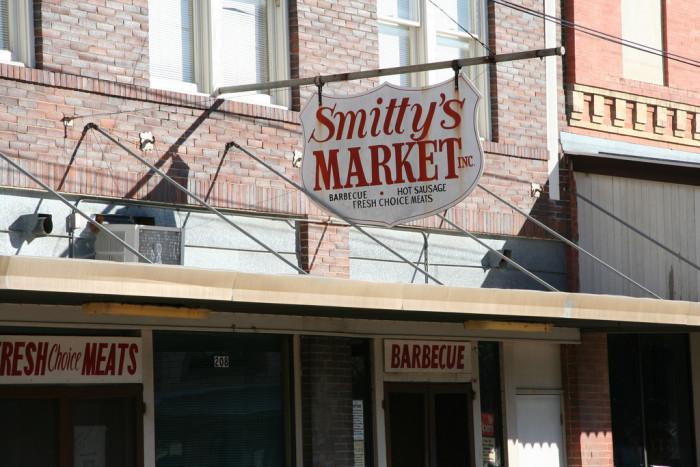 3) Smitty's Market (Lockhart)