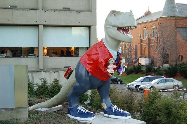 7. Mr. Tyrannosaurus Rogers