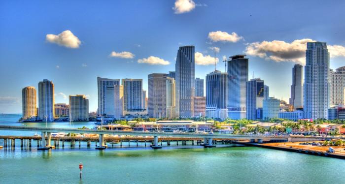1. We all live in Miami.