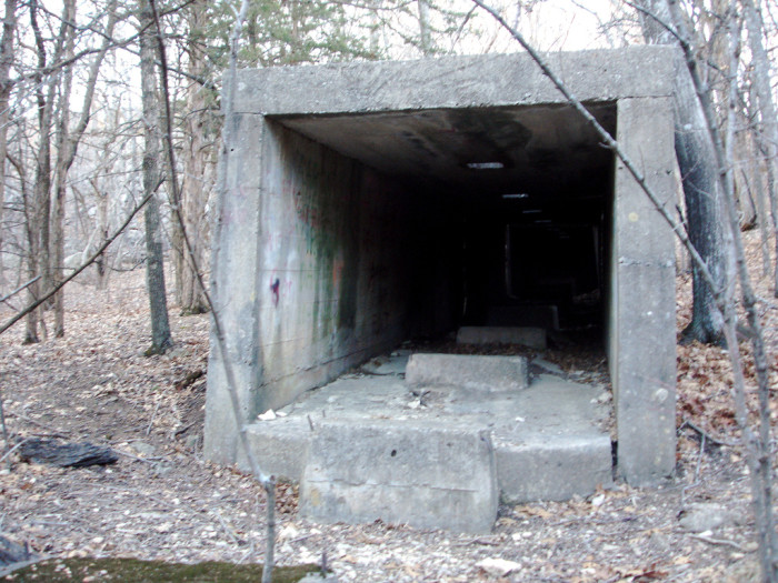 3.) Cement Factory Tunnel