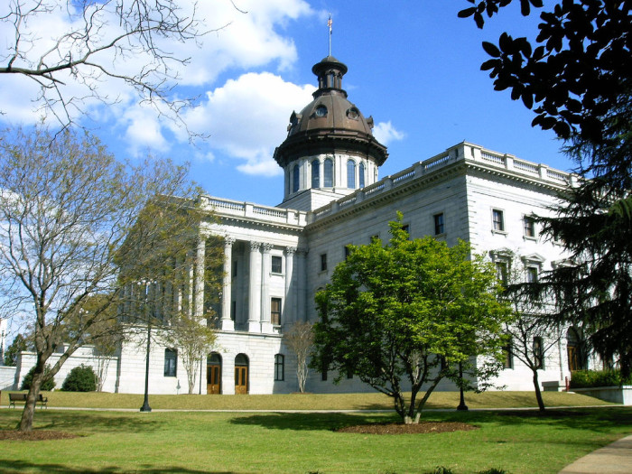 11. South Carolina State House and The Governor's Mansion