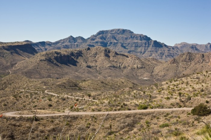 17) Pinto Canyon Road (between Ruidosa and Marfa)