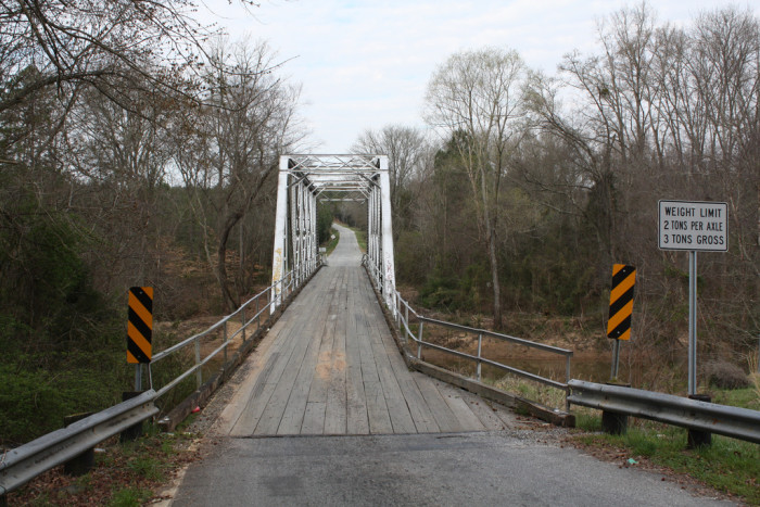 """6. """"Old"""" Ligon Bridge, Enoree, SC"""
