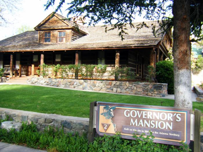 2. Old Governor Mansion at Sharlot Hall Museum, Prescott