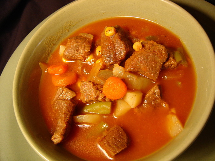 9) A neighbor might feed you deer stew.