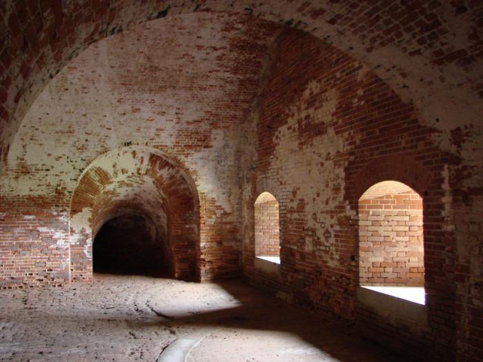 3. Inner quarters of Fort Morgan - Fort Morgan, AL