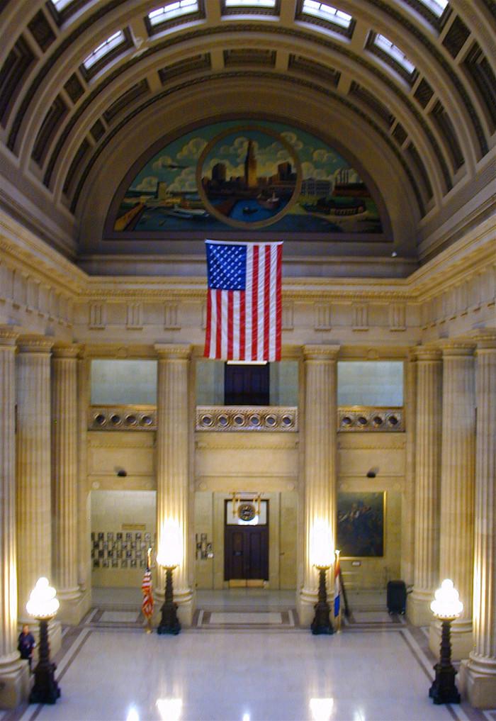 4) Cleveland City Hall Rotunda