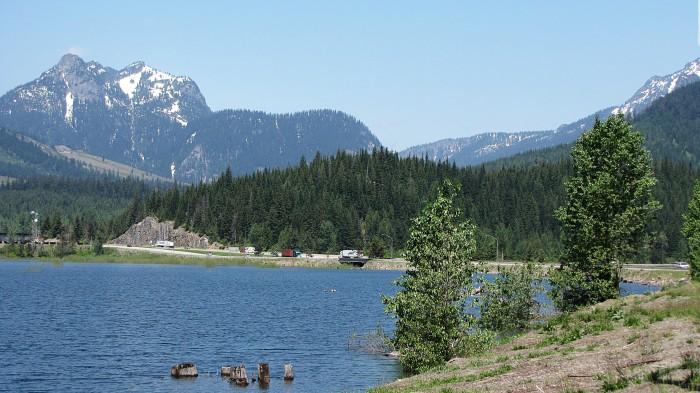 10. Keechelus Lake - by Snoqualmie Pass