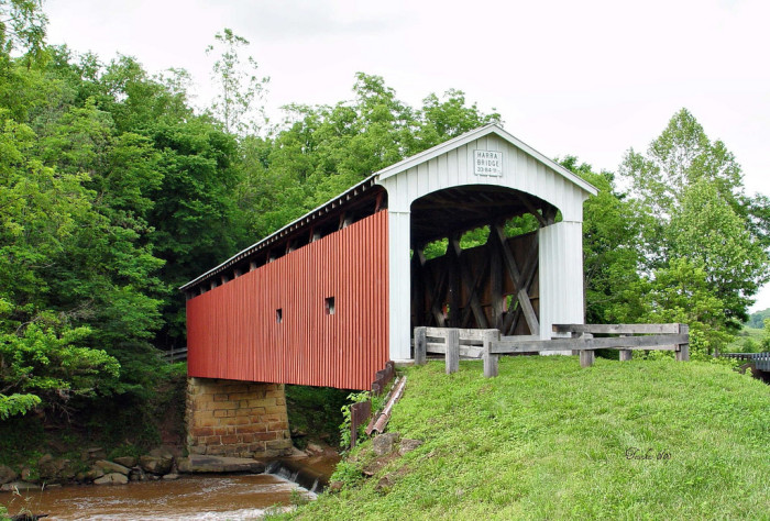 9) Harra covered bridge (Washington County)