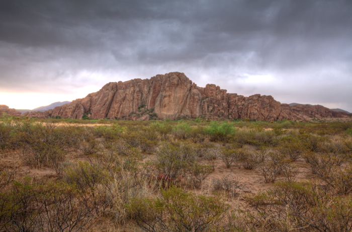 5) Hueco Tanks State Park (El Paso)