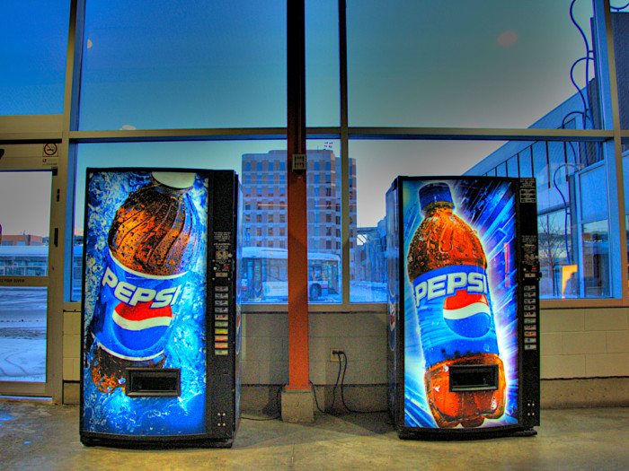 6) You won't be able to buy  a Pepsi here.