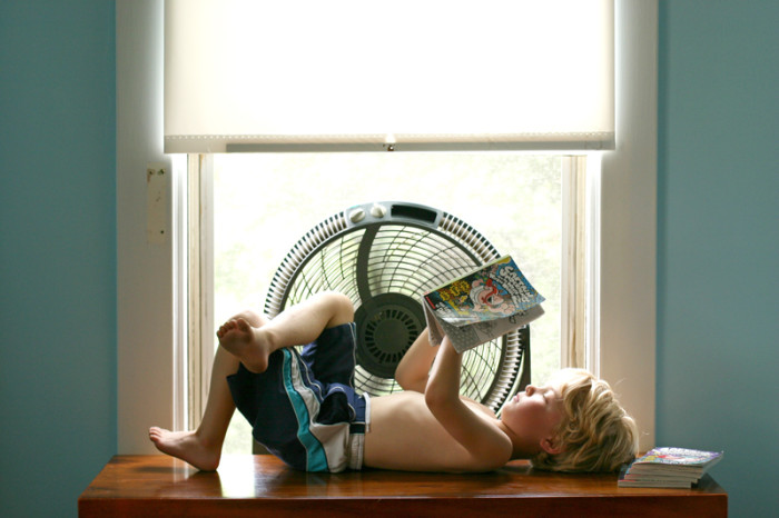 4) Good air conditioning. Because we essentially live on the sun in the summer.