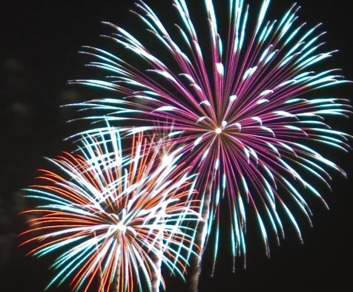 9. Tucson, 'A' Mountain Fireworks