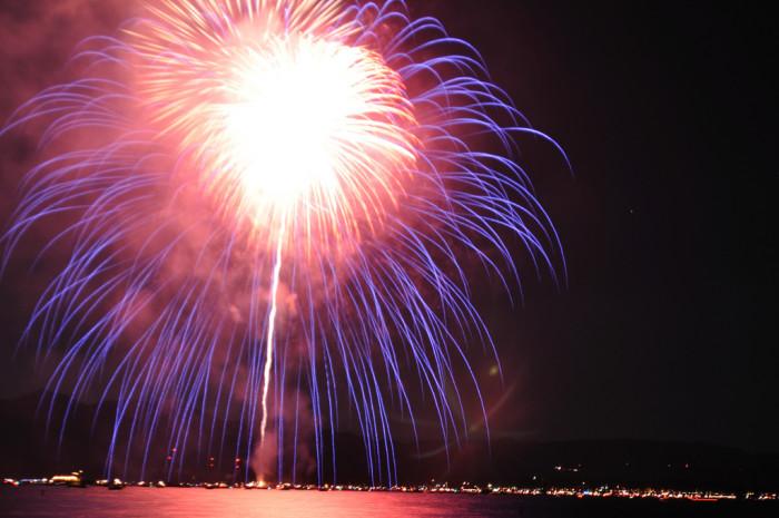6. Lights on the Lake Fireworks - Lake Tahoe