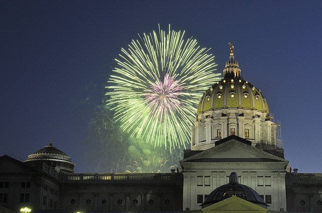 9. The Harrisburg July 4th Celebration