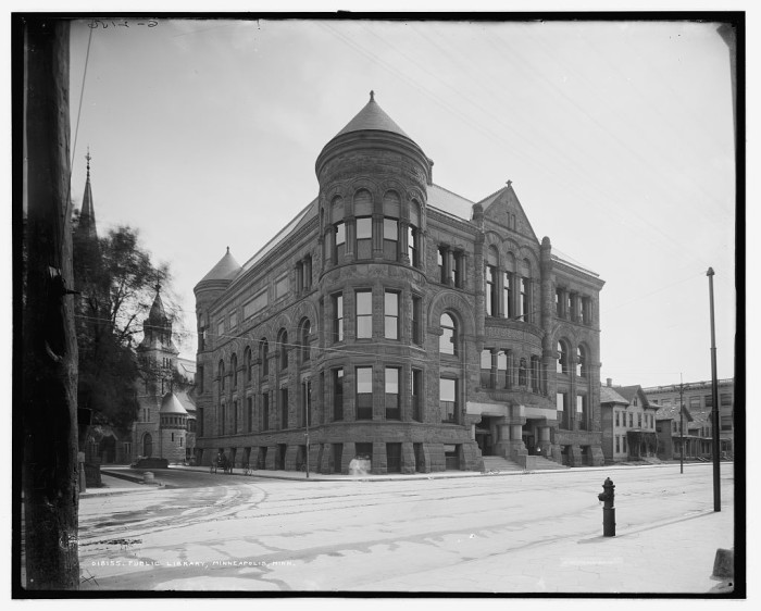 12. The Minneapolis Public Library had the first separate children's section.