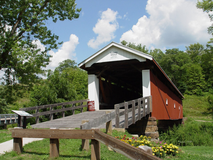 6) Rinard covered bridge (Washington County)