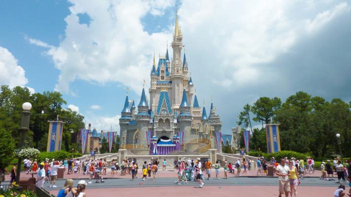 18. Cinderella's Castle
