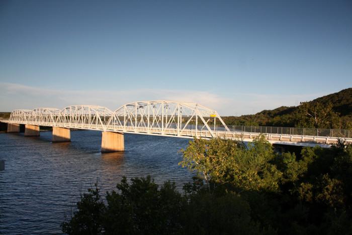 14) Buchanan Dam Bridge (Between Burnet and Llano Counties)
